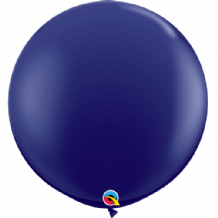 3ft Giant Balloons - Navy Latex Balloon 1pc